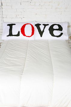 Love pillowcases....yet another couples' shower idea. Yes, I'm somehow into cheesy pillowcases.