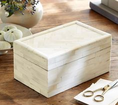 pottery barn callie box - Google Search