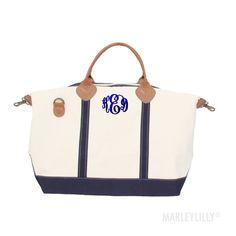 Monogrammed Sunshine Satchel Duffel Bag   Marleylilly Duffel Bag, Weekender,  Monogram Tote Bags, de89c967bc