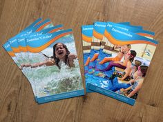 Ontwerp flyers voor C in Zee en zeemeerminles voor Bewegingsplein Westduin