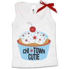 Summer Fun - Psychobaby Chi Town Cutie Pie Tank Top