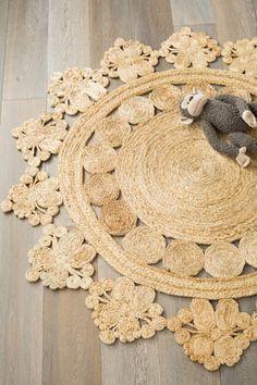 Flower Weave Rug - Marigold