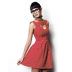 Cherry Dress Red