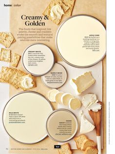 Better Homes and Gardens Creamy and Golden June 2014--barely beige for hall way?