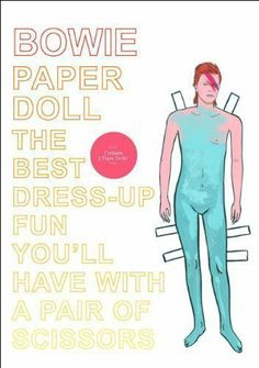 Paper Doll Bowie by I love Mel (2011)  #Book