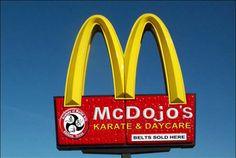 Warning: 93 Signs Your Dojo is a McDojo | KARATEbyJesse.  Martial Arts humor