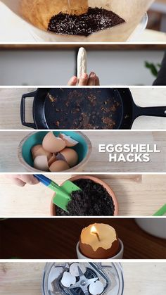 Instead of throwing away eggshells, put them to egg-cellent use with these 6 simple tips.