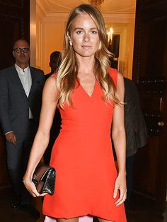 Red-Hot Cressida Bonas Dazzles at London Fashion Week Two Days After Celebrating Prince Harry's Birthday http://www.people.com/people/package/article/0,,20395222_20953738,00.html