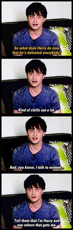 Pretending to be Harry