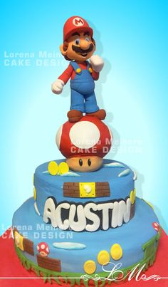 Lorena Meinero | CAKE DESIGN | Torta Mario Bros