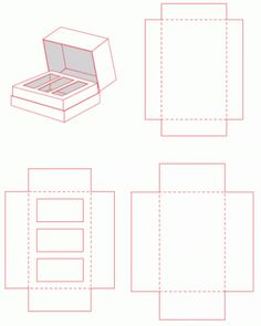 Come realizzare scatoline ed astucci regalo Packaging Dielines, Box Packaging, Packaging Design, Printable Box, Diy Gift Box, Diy Box, Gift Boxes, Paper Box Template, Matchbox Template
