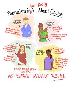 """When someone says, """"stuff like wage gap doesn't exist, it has to do with women's CHOICES,"""" THIS is what I mean when I say sometimes it isn't really a choice, because there isn't an alternative. Some women do not have the same opportunities, financial stability, privilege, or abilities as other women do, and so they don't CHOOSE to do something; they HAVE to"""