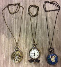 Pocket Watches #watch #owls #gold