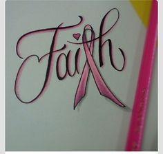 Breast cancer tattoo