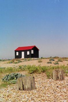 Beach hut by Nigel Rainton