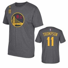 Golden State Warriors adidas Chinese New Year Klay Thompson  11 Gametime  Tee Warriors Gear 0c32e67bf