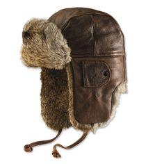 be19a8f644c Orvis Rabbit-fur-Trimmed Aviator Hat Aviator Hat
