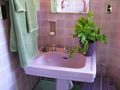 40 Best Lavender Bathrooms Images On Pinterest