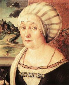 """""""Reinette: German Style from 1468-1588. Portrait of Felicitas Tucher Albrecht Dürer,1499"""""""