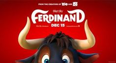 Coming Soon: Ferdinand  The trailer for the upcoming animated film,Fernidadhas been released.The film is based on the best-selling children's book The Story of Ferdinandand tells the story of a bull who would rather smell flowers than take part in bullfights, refusing to take heed of the matadors or anyone... - http://www.reeltalkinc.com/coming-soon-ferdinand/