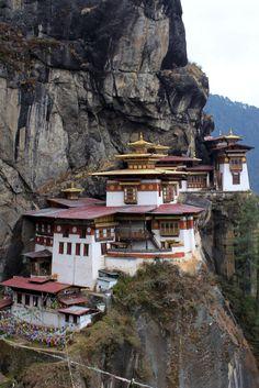 Tiger Nest, Buthan - Kloster Taktshang