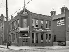 Goebel Brewing Company, Detroit, MI - 1893