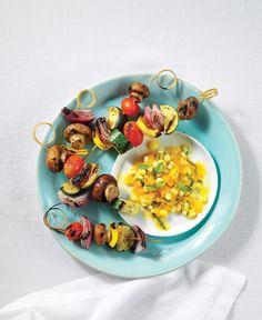 Vegetarian and Vegan Veggie Kebabs   Vegetarian Times