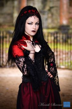 Model: Ella AmethystPhoto: Manish Sharma Photography Clothes: The Gothic Shop Welcome to Gothic and Amazing |www.gothicandamazing.org