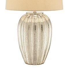Possini Euro Naxos Fluted Glass Table Lamp