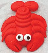 Items similar to Edible Sea Lobster Creatures Mini Royal Icing Simply Darling on Etsy Lobster Party, Take The Cake, Royal Icing, Creatures, Sea, Cookies, Mini, Handmade, Etsy