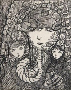 Madge Gill, outsider artist (UK, 1882–1961) | Artribune
