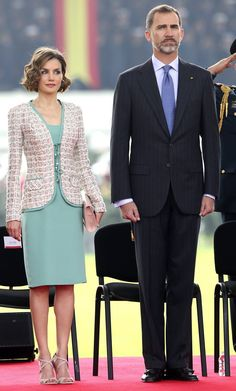 MyRoyals: Spanish Visit to Mexico, June 29, 2015-King Felipe and Queen Letizia