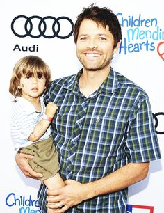 West and Misha are so cute!
