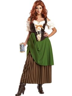 Check out Tavern Maiden Womens Costume - Renaissance Costumes from Costume Super Center