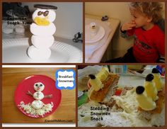 Snowmen Snacks and More