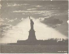 "Old 1950's Statue of Liberty New York City 7""x 9"" Jumbo Postcard, Unused! http://stores.ebay.com/bhtresures-internet-store"