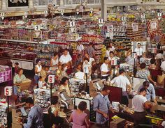 1964 supermarket.  Cool.