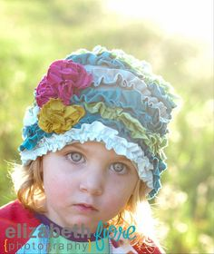Cloche Hat Sewing E-Pattern & Detailed Tutorial Sizes Newborn to Adult- Oh the Cuteness