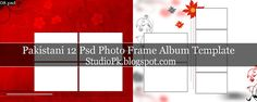Pakistani 12 Psd Photo Frame Album Design