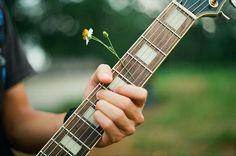 Guitar + Flower :)