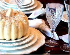 Pale Pumpkin Tablescape