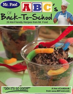 FREE e-Cookbook: ABC's of Back-to-School! {26 kid-friendly recipes}