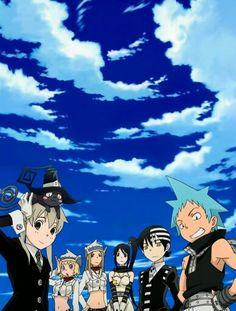 Blue Sky - Soul Eater Art Anime