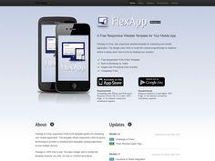 Flexapp Landing Page Template