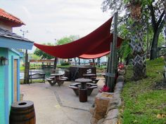 Shady area for a lunch break or Birthday Party! Yes! You can have your party here with us :) Call for more information.