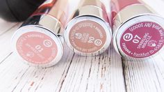 {Review} Essence Cosmetics Sheer and Shine Lipsticks - Beauty Candy Loves