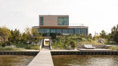 Beach House, Sea Bright, New Jersey, by Raad Studio Studios Architecture, Facade Architecture, Landscape Architecture, Home Design Decor, House Design, Design Ideas, Interior Design, Design Styles, Residential Building Design