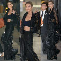 #NEW pics of Gigi arriving at Jimmy Kimmel Live in Los Angeles yesterday, November 8th. // goddess❤ •|• #GiGiHadid #JimmyKimmel