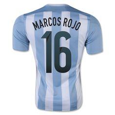 2015-16 Argentina Home Shirt (Marcos Rojo 16)