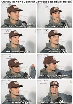 Josh on Jennifer Lawrence's awards.